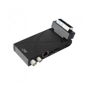 ICAN T375 DECODER DIG TERR EASY SCART DVB-T-T2 HEVC HD HDMI