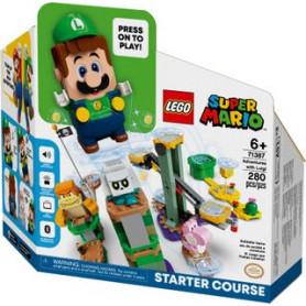 LEGO SUPER MARIO 71387 AVVENTURE DI LUIGI - STARTER PACK ETA 6