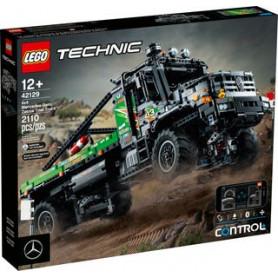 LEGO TECHNIC 42129 CAMION FUORISTRADA 4X4 MERCEDES-BENZ ZETROS ETA 12