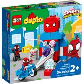 LEGO DUPLO SUPER HEROES 10940 IL QUARTIER GENERALE DI SPIDER-MAN ETA 2
