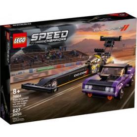 LEGO SPEED CHAMPIONS 76904 MOPAR DODGE//SRT TOP FUEL DRAGSTER E 1970 DODGE CHALLENGER T/A ETA 8