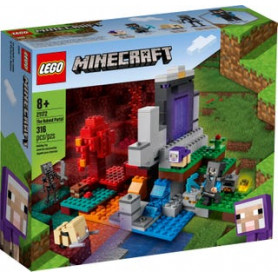 LEGO MINECRAFT 21172 IL PORTALE IN ROVINA ETA 8