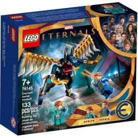 LEGO SUPER HEROES 76145 ASSALTO AEREO DEGLI ETERNALS ETA  7+                   ETA 7