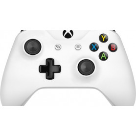 Microsoft Xbox Wireless Controller Bianco, Gamepad,  Xbox One S, Analogico/Digitale, D-pad, Senza fili, Bluetooth