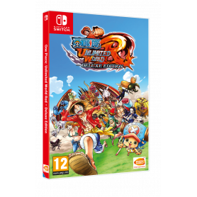 Namco One Piece Unlimited World Red Deluxe Ed.