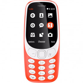 NOKIA 3310 3G D.S. WARM RED CELLULARE