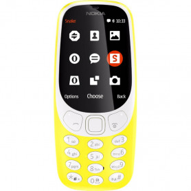 NOKIA 3310 3G D.S. YELLOW CELLULARE