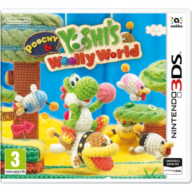 NINTENDO 3DS POOCHY   YOSHI   S WOOLLY WORLDE