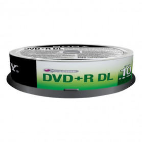 SONY 10DPR85SP DVD R DUAL LAYER 8.5GB SPINDLE 10PZ