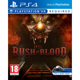 SONY Until Dawn Rush of Blood VR PS4