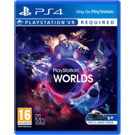 SONY VR Worlds VR PS4