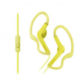 SONY MDRAS210APY.CE7 CUFFIA SPORT IN EAR CON MICROFONO GIALLA