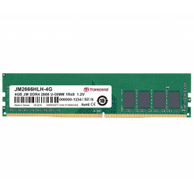TRANSCEND JM2666HLH-4G 4GB DDR4 2666 U-DIMM PC4-21333 1.2V NON-ECC CL19 MEMORIA RAM