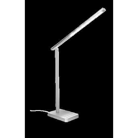 TRUST 22791 FUSEO TASK LAMPADA DA SCRIVANIA LED ALLIMINIO CON RICARICA WIRELESS
