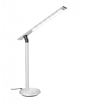 TRUST 22792 LIDEO TASK LAMPADA DA SCRIVANIA ALLUMINIO LED DOPPIA LUCE