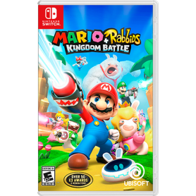 UBISOFT MARIO   RABBIDS KINGDOM BATTLE GIOCO PER SWITCH