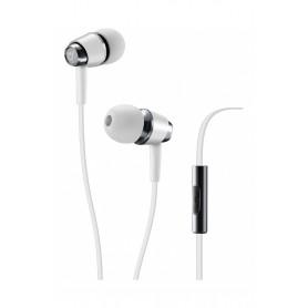AQL AURICOLARE IN-EAR POP MICROFONO BIANCO