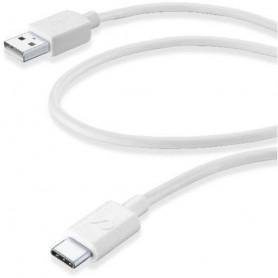 CELLULAR USBDATA06USBCW CAVO DATI 0.6 m  TYPE-C BIANCO