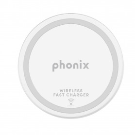 PHONIX PAD1W PHONIX QI WIRELESS CHARGER - 1A - USB CABLE - WHITE