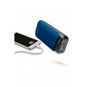 CELLULAR FREEP5200USBCB CARICABATTERIA EMER. 5200 USB-C BLU