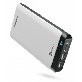 CELLULARLINE POWERUP 20000 (FREEP20000USBCW) CARICABATTERIA  USB+USB-C BIANCO