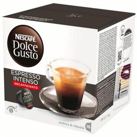 dolce gusto decaffeinato  12281253 ESPRESSO INTENSO DECAFFEINATO CONF. 16PZ DOLCE GUSTO