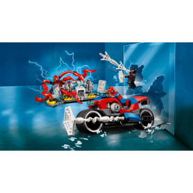 LEGO 76113 SUPER HEROES SALVATAGGIO SULLA MOTO DI SPIDER-MAN
