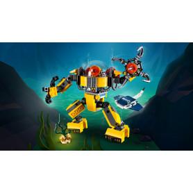 LEGO 31090 LEGO CREATOR ROBOT SOTTOMARINO