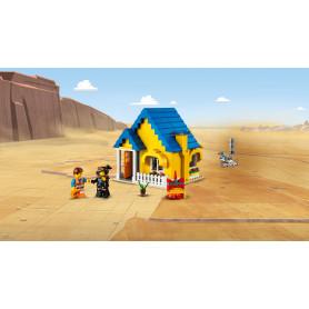 LEGO 70831 LEGO MOVIE LA CASA DEI SOGNI/RAZZO DI SOCCORSO DI EMMET