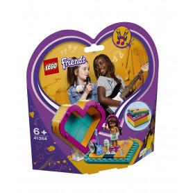 LEGO 41354 LEGO FRIENDS SCATOLA DEL CUORE DI ANDREA