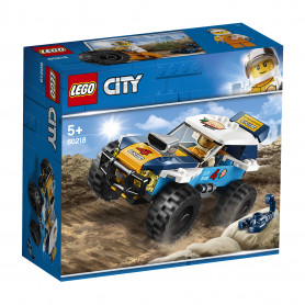 LEGO 60218 CITY GREAT VEHICLES AUTO DA RALLY DEL DESERTO