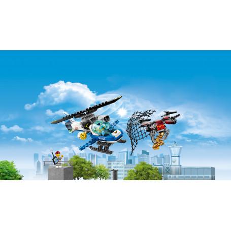 LEGO 60207 CITY POLICE INSEGUIMENTO CON IL DRONE DELLA POLIZIA AEREA
