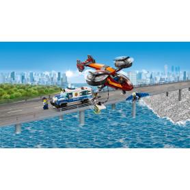 LEGO 60209 CITY POLICE POLIZIA AEREA: FURTO DI DIAMANTI