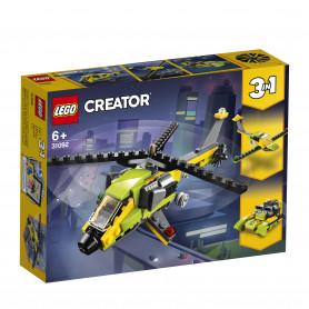 LEGO 31092 CREATOR AVVENTURA IN ELICOTTERO