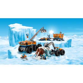 LEGO 60195 CITY ARCTIC EXPEDITION BASE MOBILE DI ESPLORAZIONE ARTICA
