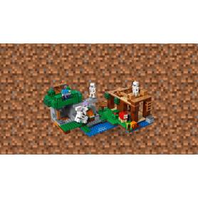LEGO MINECRAFT 21146 L ATTACCO DELLO SCHELETRO