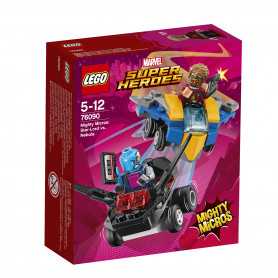 LEGO SUPER HEROES 76090 - MIGHTY MICROS: STAR-LORD CONTRO NEBULA