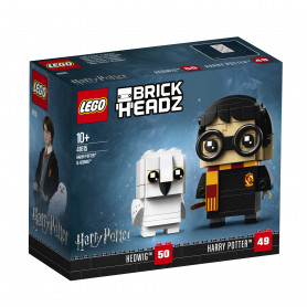 LEGO BRICKHEADZ 41615 HARRY POTTER E EDVIGE V29