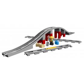 LEGO 10872 DUPLO TOWN PONTE E BINARI FERROVIARI