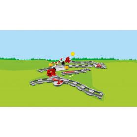 LEGO 10882 DUPLO TOWN BINARI FERROVIARI