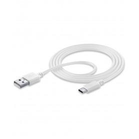 CELLULAR USBDATACUSBA-CW CAVO DATI 1,2 m  USB-A / USB-C BIANCO
