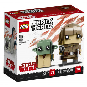 LEGO BRICKHEADZ 41627 LUKE SKYWALKER   E YODA
