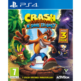 ACTIVISION CRASH BANDICOOT N SANE TRILOGY PS4