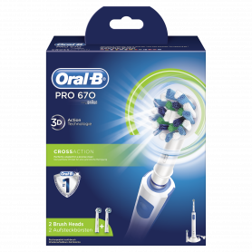 ORAL-B PRO 670 CROSS ACTION SPAZZOLINO