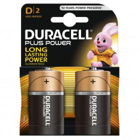 DURACELL  TORCIA PLUS 1.5V 2Pz DUMN1300G