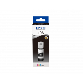 EPSON C13T00R140 FLACONE 106 ECOTANK PHOTO BLACK 70ML