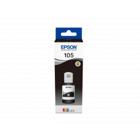 EPSON C13T00Q140 FLACONE 105 ECOTANK NERO 140ML