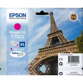 EPSON C13T7023 TANICA MAGENTA TAGLIA XL  TORRE EIFFEL  CARTU
