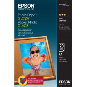 EPSON C13S042538 A4 20 FOGLI GOOD 200G/M2 CARTA FOTOGRAFICA