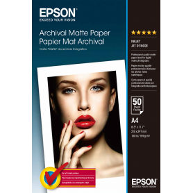 EPSON C13S041342 MATTE PAPER DA ARCHIVIO A4 192GR 50FOGLI